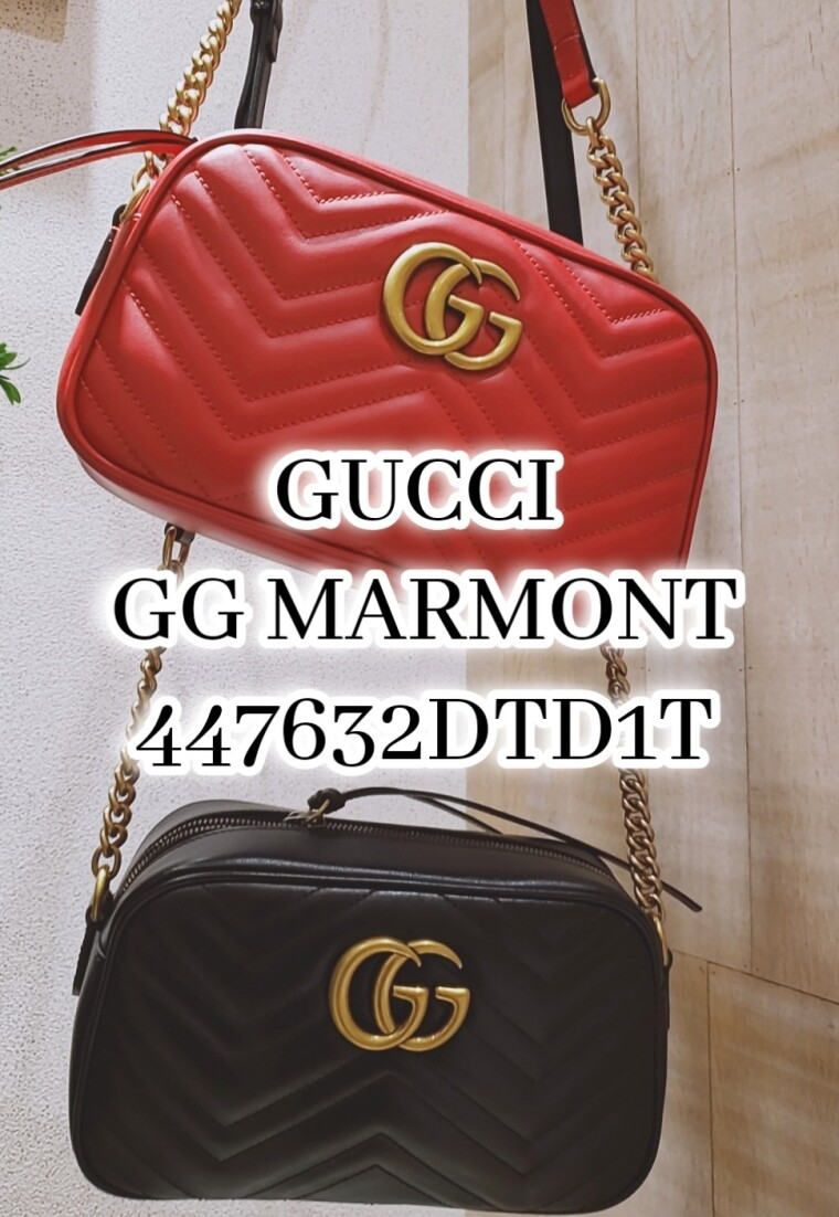 GUCCI  GG MARMONTチェーンバッグ